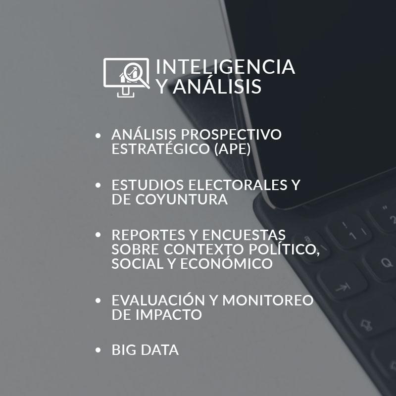 inteligencia y analisis
